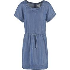 Esprit Sukienka jeansowa dark blue