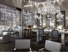 baccarat hotel - very chic