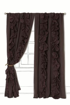 make curtains using twin sheets.  I will have these
