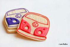 vw bus cookies
