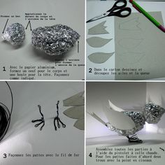 Discover recipes, home ideas, style inspiration and other ideas to try. Paper Mache Projects, Paper Mache Clay, Paper Mache Sculpture, Paper Mache Crafts, Bird Crafts, Bird Sculpture, Paper Birds, Fabric Birds, Paper Mache Animals