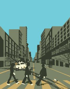 Abbey Road Reloaded Art Print