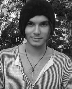Tyler Blackburn. With a beanie. Dead. so adorable. ♥