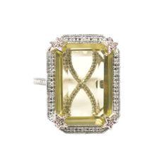 "Glenn Bradford Fine Jewelry - ""The Tayler-Citrine"" Birth Stones, Jewelry Rings, Fine Jewelry, Bradford, Cocktail Rings, Emerald, Plating, Engagement Rings, Gemstones"