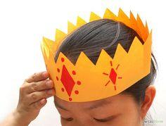 DIY Crown : DIY Kings Crown: 13 Steps Diy Crown, Kings Crown, Diy Tutorial, Cord, Beads, Christmas, Beading, Xmas, Cable