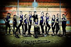 "Softball+Team+Picture+Poses | Softball Team Picture Poses ""sweet heat softball team"