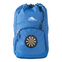 Dartboard,-Triple_Twenty,_Blue_Unisex_Backpack Backpack