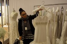I love this woman and her mother #MadelineFig Look for her on Bridal Days You Tube Channel