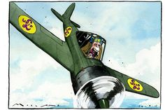 News and opinion from The Times & The Sunday Times Satirical Cartoons, Nigel Farage, 26 September, The Sunday Times, Satire, Campaign, Self, Sarcasm