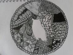 An Owl Zen Doodle