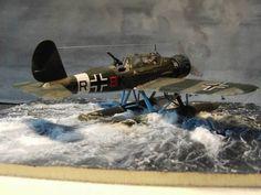 Wasserung einer Arado 196 A-2 in 1/72 von Rainer Michalek