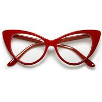 CLASSIC 60's RETRO CAT EYE Style Clear Lens EYE GLASSES Tortoise & Black Frame | eBay Red Frame Glasses, Glasses Case, Eye Glasses, Lenses Eye, Optical Glasses, Womens Glasses, Red Fashion, Retro Vintage, Women's Sunglasses