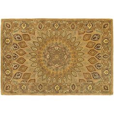 Safavieh Heritage Portsmouth Framed Floral Wool Rug, Multicolor