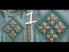 طريقة فتح كوزة في الثوب براندة الجاكار مع أم عمران - ج 1 randa - YouTube