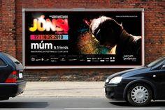 JONSI cocert in Kraków / billboard / 2010