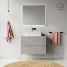 Skagen cabinet with ceramic tiles with a marble look makes the bathroom extra stylish and luxurious. Unlike marble, ceramic tile can withstand acidic cleaners, which can be beneficial if you have a lot of lime in the water.  The cabinet consists of solid oak with finger tap joints, and is designed as a module, ie. that one can freely assemble the cabinets. The drawers have push-open slide rails from BLUM. Bath Cabinets, Skagen, Solid Oak, Floating Nightstand, Copenhagen, Tiles, Drawers, Finger, Marble