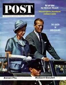 Post Magazine Cover Queen Elizabeth 1963