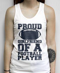 Reading is My Cardio on a Unisex White Tank Top Boyfriend Football Shirts, Football Girlfriend, Softball Shirts, Football Girls, Boyfriend Shirt, Football Players, Girlfriend Goals, Football Stuff, Boyfriend Girlfriend