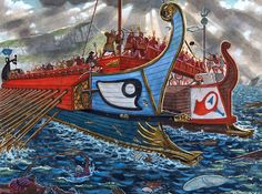The Battle of the Aegates Islands, 10 March 241 BC