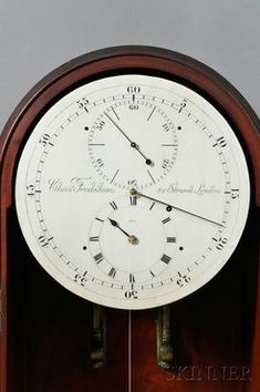 The silvered brass astronomical dial engraved Chas. Frodsham, 84 Strand, London, 1876; image credit on full record.
