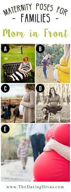 Cute Poses to Add Depth to Maternity Photos