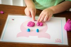 Preschool on the Farm theme Farm play dough mats