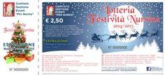 Estrazioni dei biglietti della lotteria di Norcia Natale 2014-2015