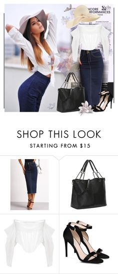 """SheIn.com 5/10"" by bebushkaj ❤ liked on Polyvore featuring Givenchy, STELLA McCARTNEY and Eugenia Kim"