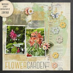 The Digichick :: Digital Kits :: Things To Do In The Garden Full Kit