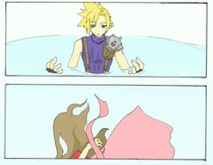 Aerith. This is what happened. Yup. No doubt. :P