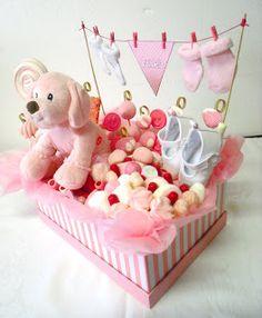 Baby Girl Gift Baskets, Baby Gift Box, Baby Box, Baby Shower Gift Basket, Baby Hamper, Baby Shower Gifts, Newborn Baby Gifts, Baby Girl Gifts, New Baby Gifts