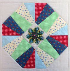 Block 4 of Happiness Quilt