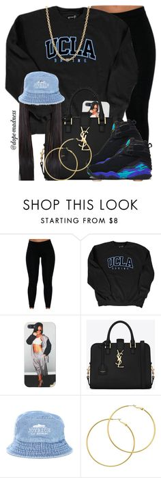 """Tell me /// Smilez & Southstar"" by dope-madness ❤ liked on Polyvore featuring мода, Yves Saint Laurent, NIKE, Joyrich, Melissa Odabash и Mark Davis"