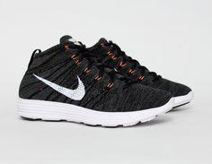#Nike Lunar Flyknit Chukka - Gris Foncé