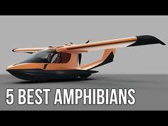 Amphibious Aircraft, Amphibious Vehicle, Luxury Pontoon Boats, Yacht Boat, Light Sport Aircraft, Flying Car, Porsche Boxster, Aircraft Design, Boat Design