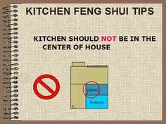 Kitchen Feng Shui Tips - Kitchen arrangement and placement of stove, kettle, rice cooker and sink