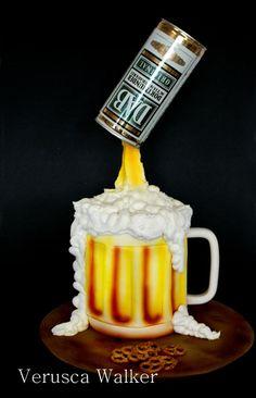 Beer Jar 3D Cake