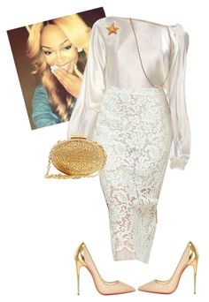 """""""Womens Night!!!!!"""" by cogic-fashion on Polyvore featuring Christian Louboutin and Chanel"""