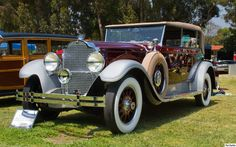 1929 Packard 645 Deluxe 8 Murphy convertible sedan