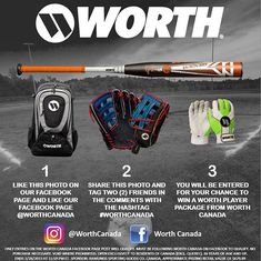 Opening day calls for an opening day Contest!  . @worthcanada wants to get you ready for the 2019 season with a prize pack retailing for $579.99! . To find out if youre eligible to win follow them on Facebook! . Better hurry! Contest closes at 11:59AM EST on March 29 2019 . You can always get in on the fun by visiting a @kahunaverse location! Using discount code SPN4YOU can save you up to 10%  . #spn #worth #worthcanada #mlb #openingday #prize #prizepack #contest . @spnalberta @spnontario… Opening Day, Ml B, Pitch, Save Yourself, How To Find Out, Packing, Coding, Seasons, Facebook