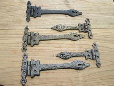 """Decorative fancy hinges    6"""" - £6.99 pair"""