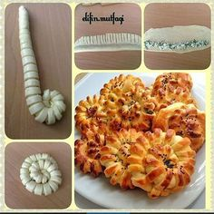 Ideas pasta dough recipes baking for 2019 Yummy Recipes, Bread Recipes, Baking Recipes, Snack Recipes, Yummy Food, Bread Shaping, Breakfast Plate, Food Garnishes, Bread And Pastries