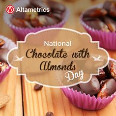 Checkout These National #ChocolateWithAlmondsDay Fun Facts (8-Jul) :  http://ow.ly/6BG6302465c
