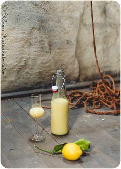 Crema di Limoncello (Zitronen-Sahnelikör)   Kleiner Kuriositätenladen
