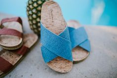 Peace, Love, & Pineapple! Our Vegan Sandals are made from Pinatex - a fiber derived from pineapple 🍍💚 Shop Pina: bearpaw.com/ #LiveLifeComfortably #BearpawStyle