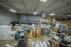 Scratch and dent and floor models. Appliance sale, discounts and closeouts. One of a kind appliances.