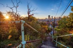 Impress Your Friends: Share Cool Stats about Pittsburgh's Steps - The 412 - May 2015 #Pittsburgh #Neighborhoods #412