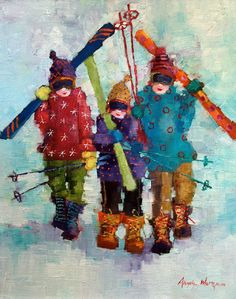 Paintings by Angela Morgan, Canada