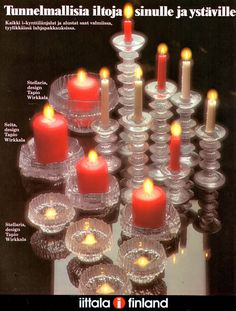 Information about Iittala - Festivo, Seita and Stellaria candle holders in Design Addict encyclopedia of modern and contemporary furniture, product design, decorative arts and architecture.