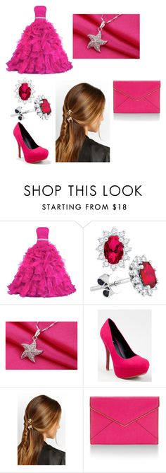 """""""Ball"""" by annawell-1 ❤ liked on Polyvore featuring beauty, Qupid, Rosantica and Rebecca Minkoff"""